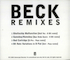 Beck - Beck Remixes