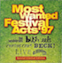 Beck - Most Wanted Festival Acts '97