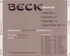 Beck - Sea Change Sampler